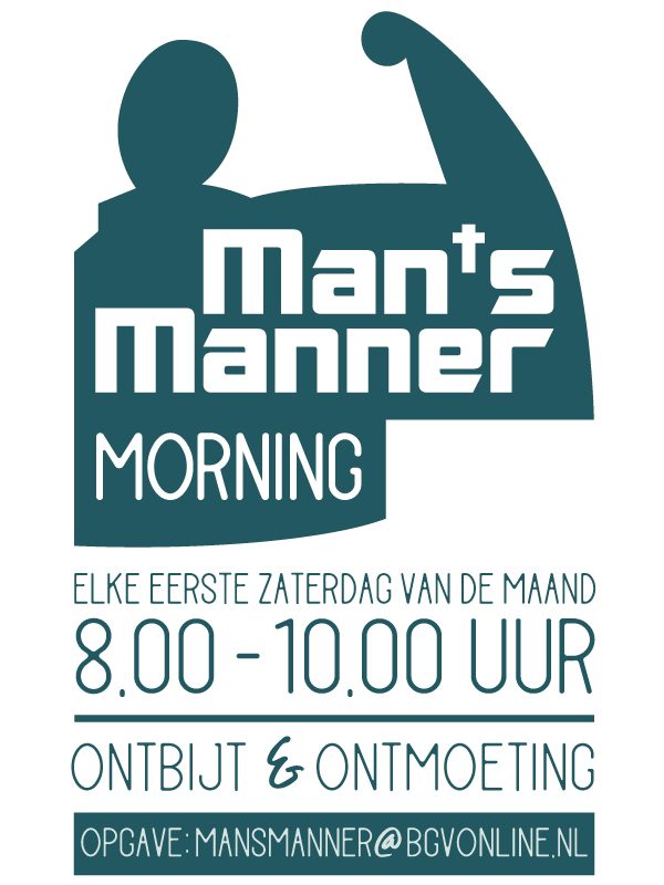 mans manner morning